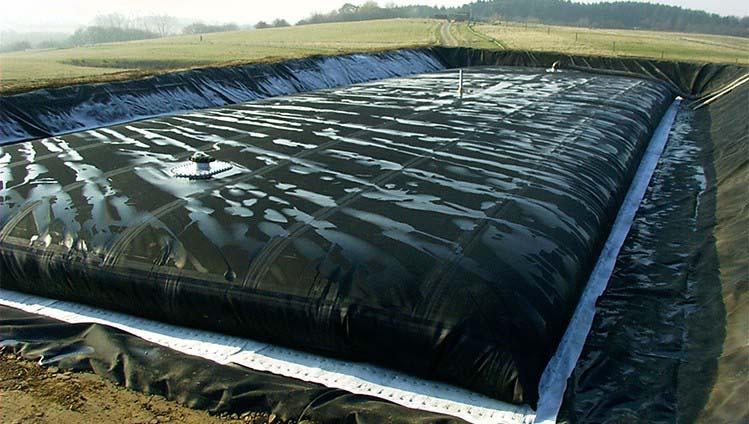 Tanque flexível para água