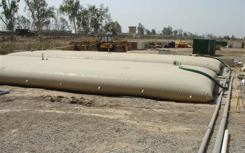 Tanque de lona para água